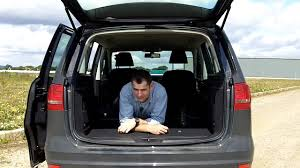 volkswagen caravelle trunk vw sharan bluemotion youtube