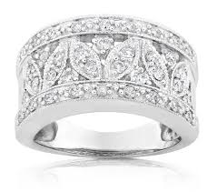 white gold vintage wedding bands vintage wedding ring anniversary band for in white gold