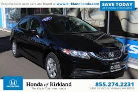 pre owned 2014 honda civic sedan lx 4dr car in kirkland 9872