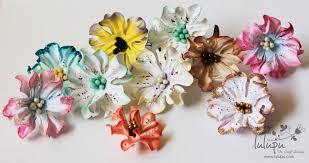 how to tutorial on handmade paper gardenia flowers youtube