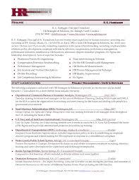 sample hr manager resume resume sample human resources executive