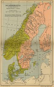 Map Of Norway Historical Maps Of Scandinavia