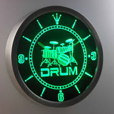 amazon com nc0406 b band room drum rock n roll music neon sign