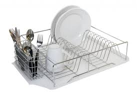 furniture home stainless steel diy two tier dish rack mm
