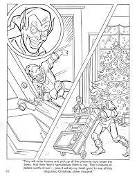 spider man u0027s christmas coloring book andertoons cartoon blog