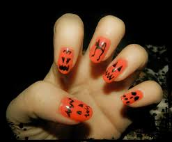 22 pumpkin nail design beauty miscellany halloween themed nails