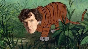benedict cumberbatch will play the tiger in warner bros jungle book