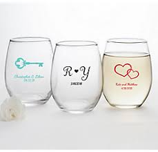 personalized glasses wedding personalized wedding favors party city