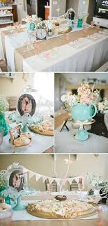 shabby chic baby shower ideas tea party baby shower ideas