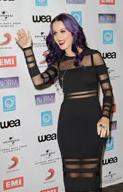 katy perry at narm music biz awards dinner party in century city