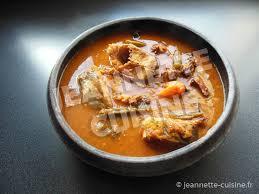 la bonne cuisine ivoirienne la sauce gnangnan plat africain jeannette cuisine
