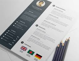 cool free resume templates 20 free editable cv resume templates for ps ai