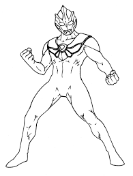 ultraman coloring pages getcoloringpages com