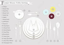 formal dinner table setting formal dinner business dinner or formal dinner table setting