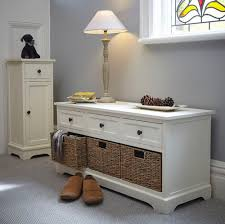 Hallway Shoe Storage Cabinet White Wooden Hallway Storage Bench And Shoe Store Living Room