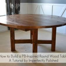 how to make a round table how to make a round table pottery barn hack tip junkie