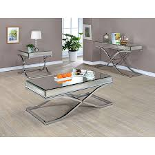 mirrored coffee table set coffee table mirror coffee table furniture home design ideas in