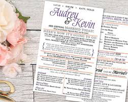 print your own wedding programs etsy your place to buy and sell all things handmade