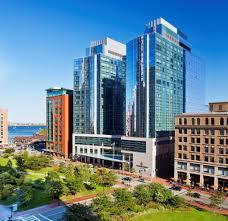 Boston Convention Center Hotels Map by Intercontinental Boston Associated Luxury Hotels International