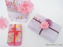 wedding gift wrapping paper gift wrap paper pom pom bloomize