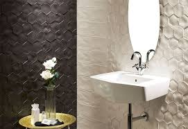 Bathroom Wall Texture Ideas Bathroom Tile Idea Install 3d Tiles To Add Texture To Your