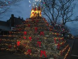 provincetown christmas lights slideshow cape cod wave