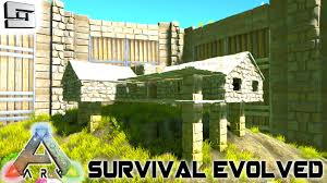 ark survival evolved house building s2e7 gameplay youtube
