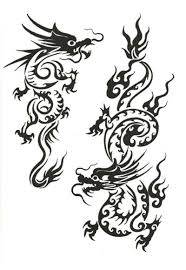 tribal chinese dragon tattoos chinese search results tattooed images