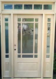 9 Lite Exterior Door Craftsman Prairie Style 9 Lite Mahogany Entry Door W 5 Lite