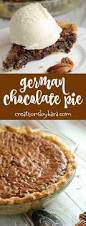 german chocolate pie creations by kara