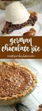 german chocolate pie creations by kara