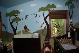 Nursery Interior Nuance Natural Nice Design Nursery Ideas For Boys That Has Blue Wall Can