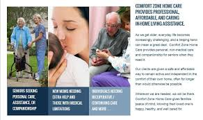 What Is Comfort Zone Mean Comfort Zone Home Care Llc Careers And Employment Indeed Com
