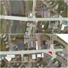 military road reconstruction plans shared with riverside coalition