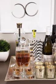 image result for how to decorate a bar cart bar cart pinterest