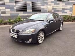 toyota lexus is 220d 2007 57 lexus is220d sport 177 bhp touch screen sat nav reverse