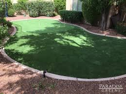 scottsdale customer saves on artificial turf putting green