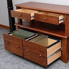 solid oak filing cabinet lateral file cabinet wood ramanations com