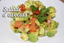 comment cuisiner le plat de cote recette salade d avocat