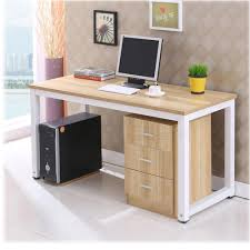 diy wooden computer mdf desk home office study table workstation