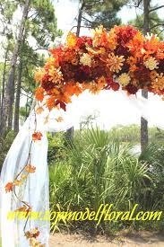 fall wedding arch u0026 decorating ideas unique floral arrangements