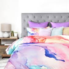 rosie brown color my world duvet cover deny designs home