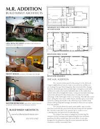 2nd Floor Addition Plans The M R Addition Build Wisely Architects The Owner U0027s Stated