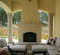 Outdoor Fireplace Surround by Isokern Outdoor Fireplaces California Cast Stone Manufacturer