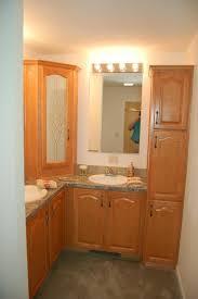 bathroom with cabinet impressive vessel home depot for kitchen