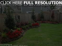 landscape garden and patio low maintenance simple backyard picture
