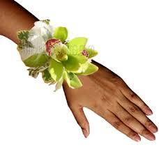 corsage flowers cymbidium wrist corsage flower