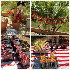 pirate birthday party pirate party ideas desert chica