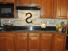 kitchen stone backsplash plain white ceramic vessel sink black