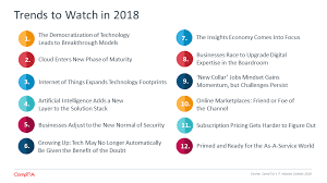Five Of The Technology Industry S Biggest Political - 2018 it information technology industry trends analysis comptia